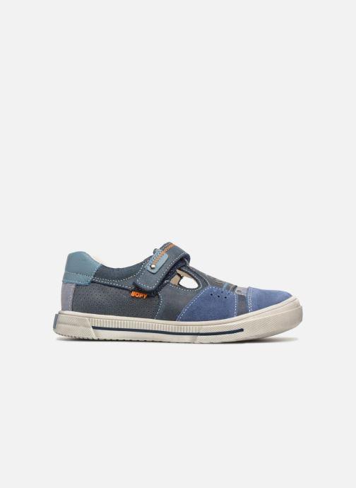Sneakers Bopy Virgil Blauw achterkant