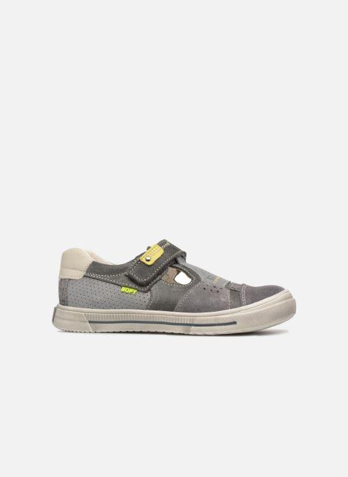 Sneakers Bopy Virgil Grijs achterkant