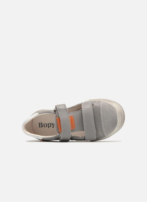 Baskets Bopy Venji Gris vue gauche