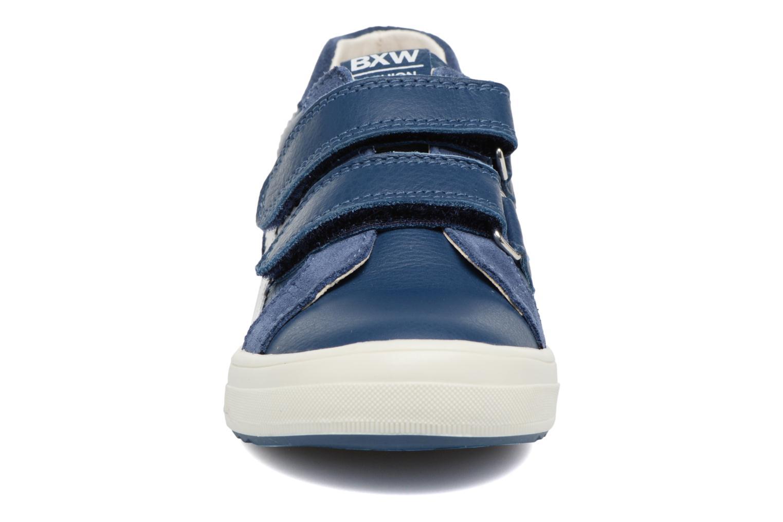 Baskets Bopy Vianey Bleu vue portées chaussures