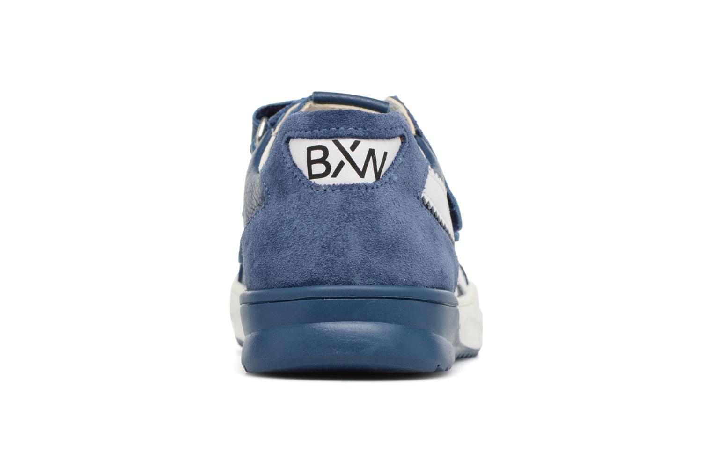 Baskets Bopy Vianey Bleu vue droite