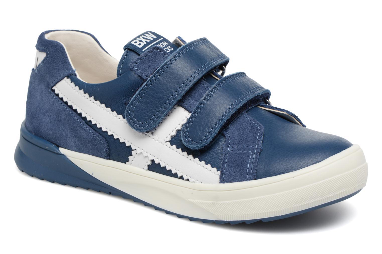 Baskets Bopy Vianey Bleu vue détail/paire
