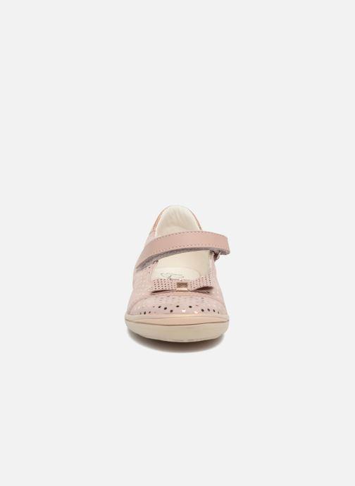 Ballerines Bopy Seloua Rose vue portées chaussures