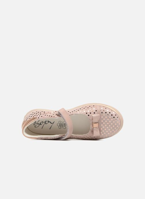 Ballet pumps Bopy Seloua Pink view from the left