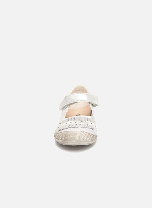Ballerines Bopy Lolila Lilybellule Argent vue portées chaussures