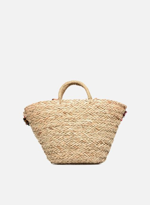 Handbags Gioseppo Panier Double anse nœuds Beige front view