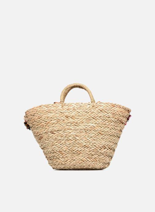 Handtaschen Gioseppo Panier Double anse nœuds beige ansicht von vorne