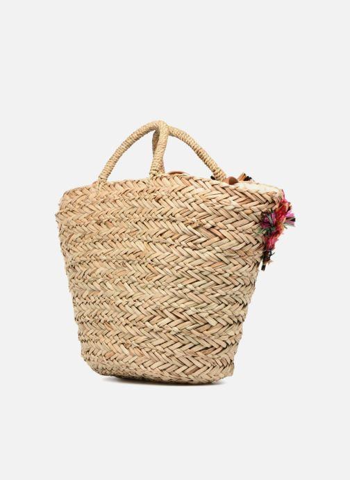 Handtaschen Gioseppo Panier Double anse nœuds beige ansicht von rechts