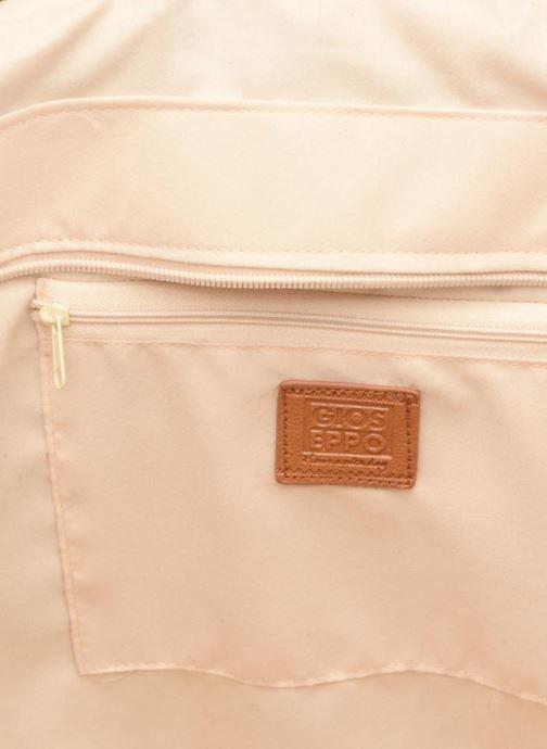 Handbags Gioseppo Panier Double anse nœuds Beige back view