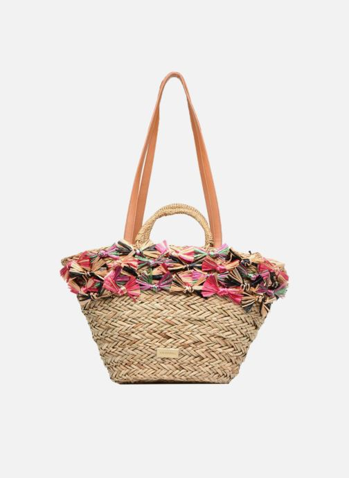 Handbags Gioseppo Panier Double anse nœuds Beige view from the left