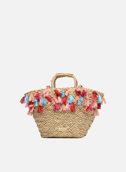 Handbags Gioseppo Panier Double anse pompom Beige detailed view/ Pair view