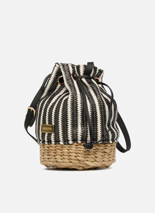 Handtaschen Gioseppo Seau rayé schwarz schuhe getragen