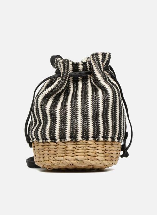 Handtaschen Gioseppo Seau rayé schwarz ansicht von vorne