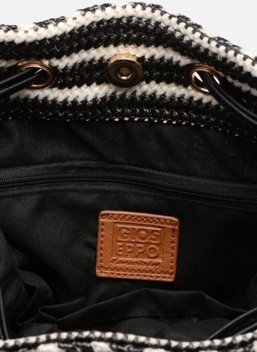 Handtaschen Gioseppo Seau rayé schwarz ansicht von hinten