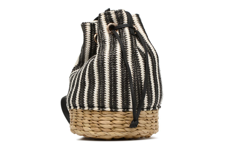 Handtassen Gioseppo Seau rayé Zwart rechts