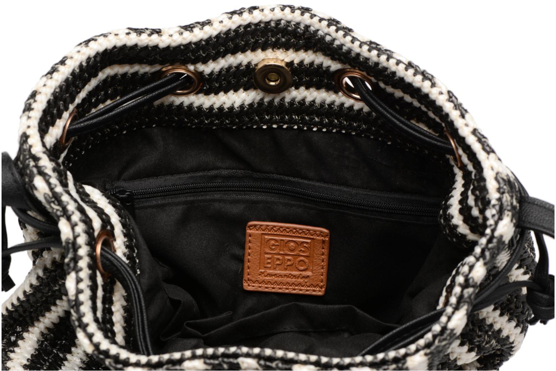 Handtassen Gioseppo Seau rayé Zwart achterkant