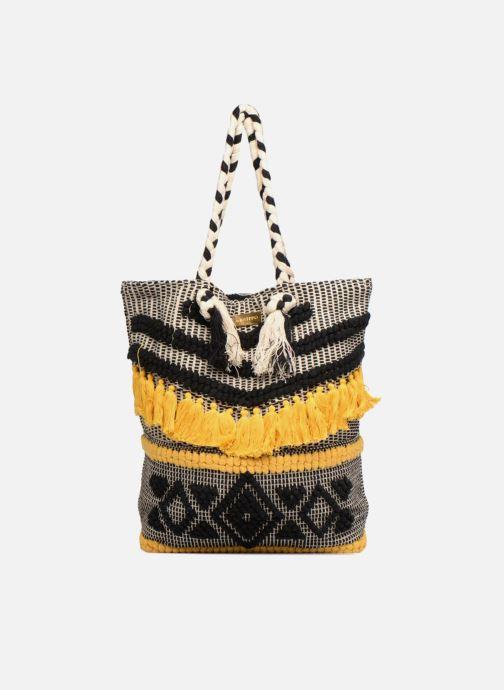 Handtassen Gioseppo Cabas Pompons Zwart detail