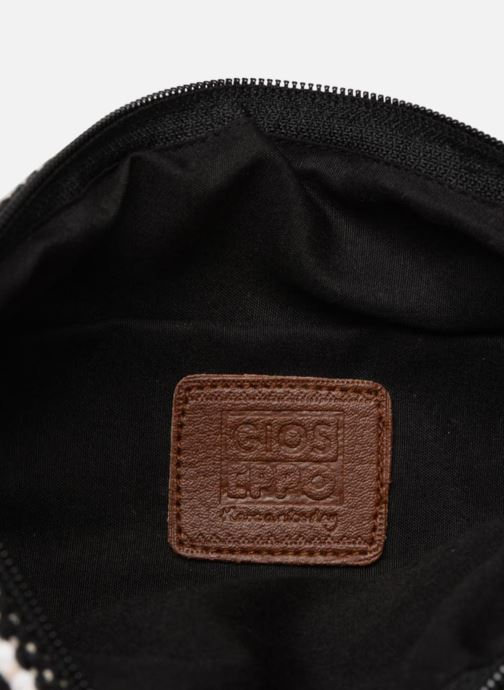 Wallets & cases Gioseppo Pochette Optic pompom White back view