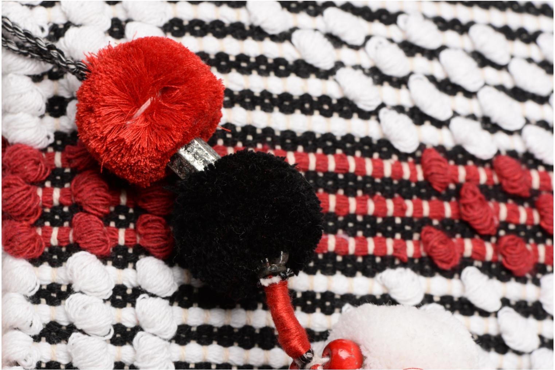 White pompom Gioseppo Optic Pochette Red xaWw7U
