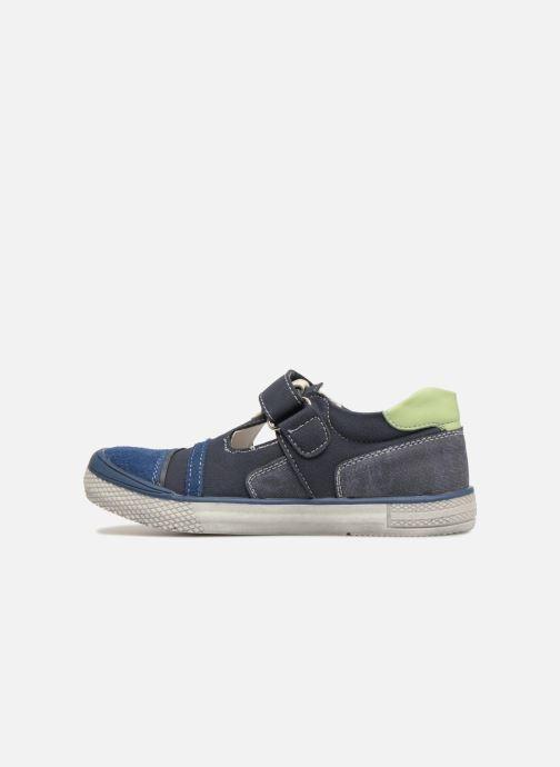 Sandales et nu-pieds Bopy Noba Sk8 Bleu vue face