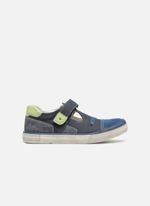 Sandales et nu-pieds Bopy Noba Sk8 Bleu vue derrière