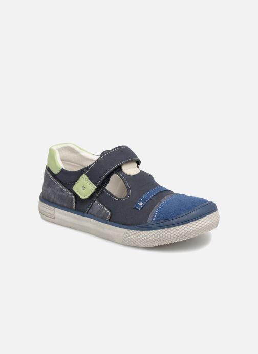 Sandales et nu-pieds Bopy Noba Sk8 Bleu vue détail/paire