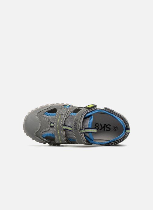Sandales et nu-pieds Bopy Torin Sk8 Gris vue gauche