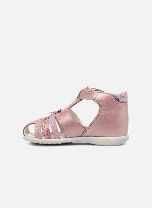 Sandales et nu-pieds Bopy Zahida Rose vue face