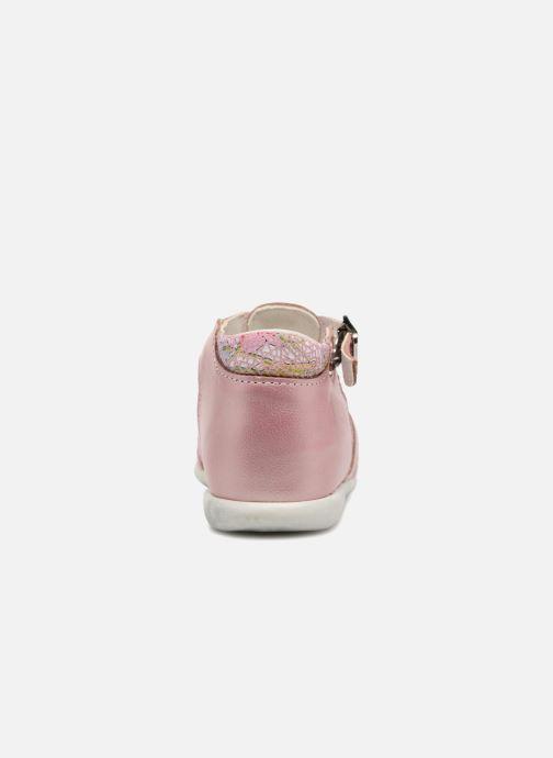 Sandales et nu-pieds Bopy Zahida Rose vue droite