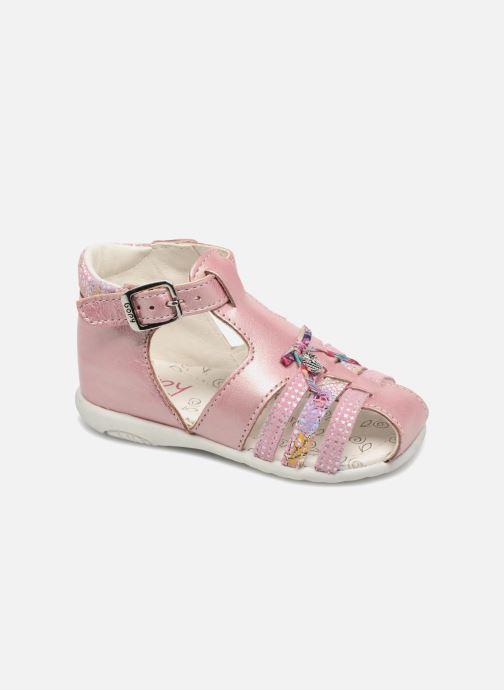 Sandales et nu-pieds Bopy Zahida Rose vue détail/paire