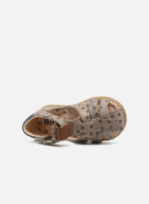 Sandals Bopy Ryan Beige view from the left