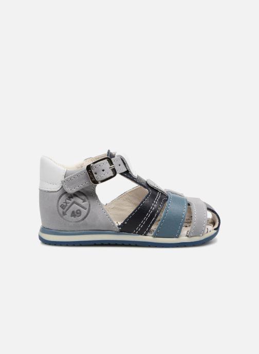Sandales et nu-pieds Bopy Zarsene Gris vue derrière