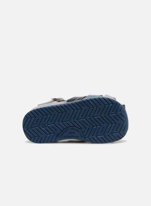 Sandales et nu-pieds Bopy Zarsene Gris vue haut