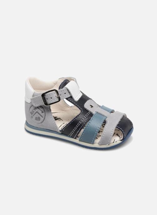 Sandales et nu-pieds Bopy Zarsene Gris vue détail/paire