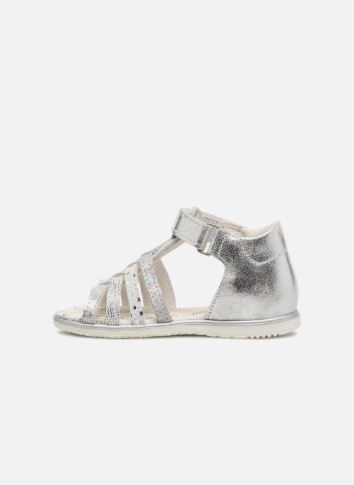 Sandales et nu-pieds Bopy Rita Argent vue face