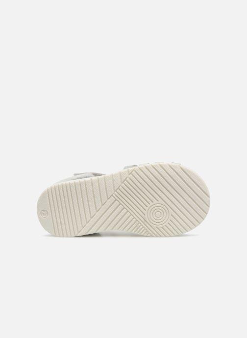 Sandales et nu-pieds Bopy Rita Argent vue haut