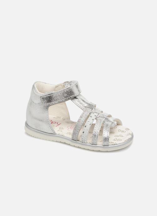 Sandales et nu-pieds Bopy Rita Argent vue détail/paire