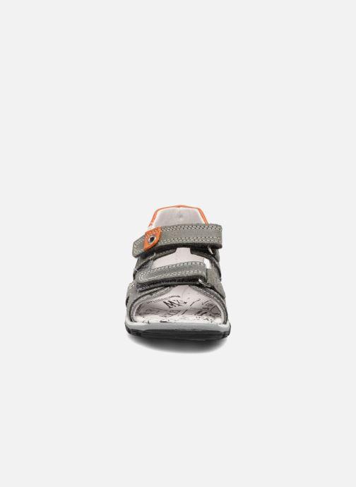 Sandales et nu-pieds Bopy Bedgard Gris vue portées chaussures