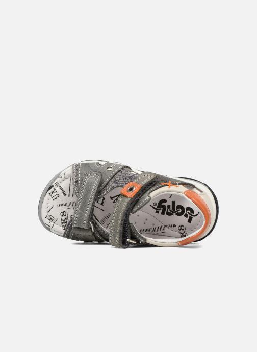Sandales et nu-pieds Bopy Bedgard Gris vue gauche