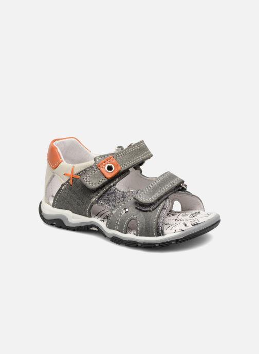 Sandales et nu-pieds Bopy Bedgard Gris vue détail/paire