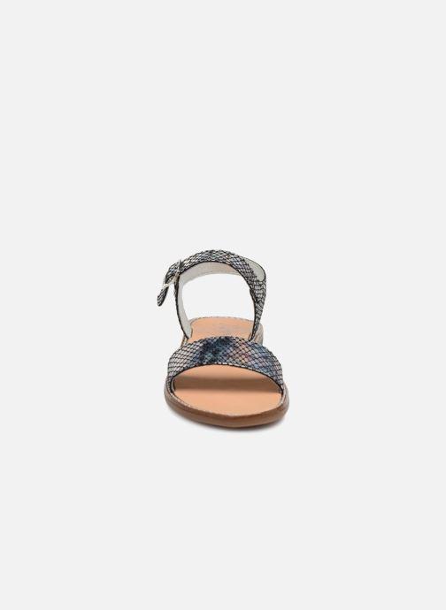 Sandales et nu-pieds Bopy Erelle Argent vue portées chaussures
