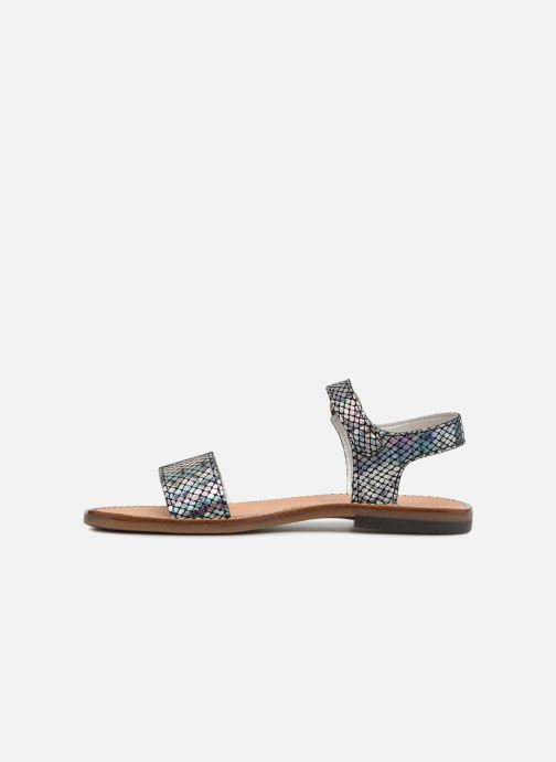 Sandales et nu-pieds Bopy Erelle Argent vue face