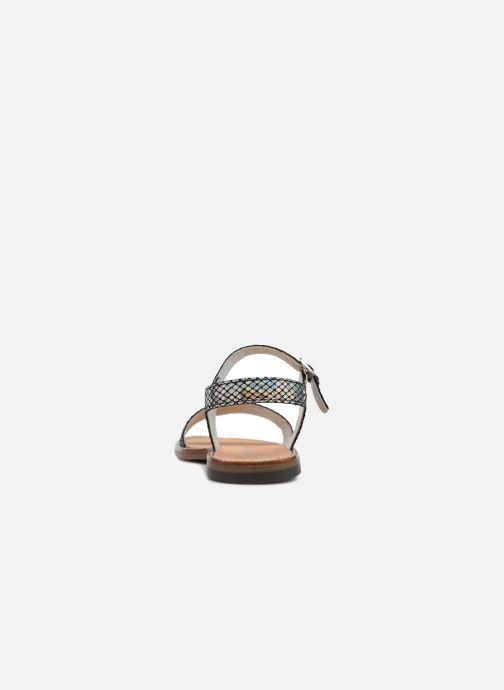 Sandales et nu-pieds Bopy Erelle Argent vue droite