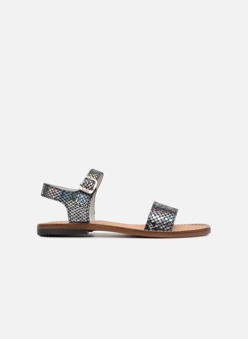 Sandales et nu-pieds Bopy Erelle Argent vue derrière