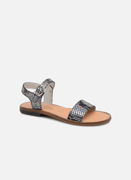 Sandales et nu-pieds Bopy Erelle Argent vue détail/paire