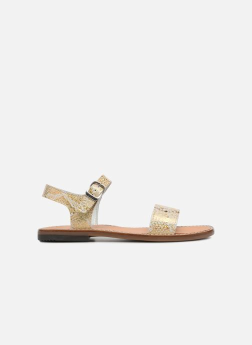 Sandals Bopy Erelle Bronze and Gold back view