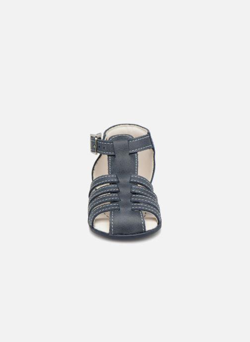 Sandales et nu-pieds Bopy Paulana Bleu vue portées chaussures