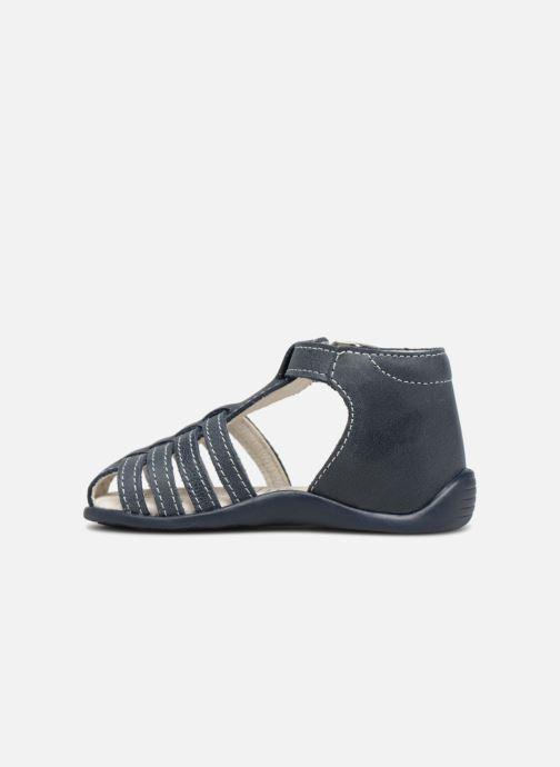 Sandales et nu-pieds Bopy Paulana Bleu vue face