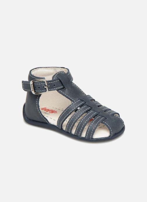 Sandales et nu-pieds Bopy Paulana Bleu vue détail/paire