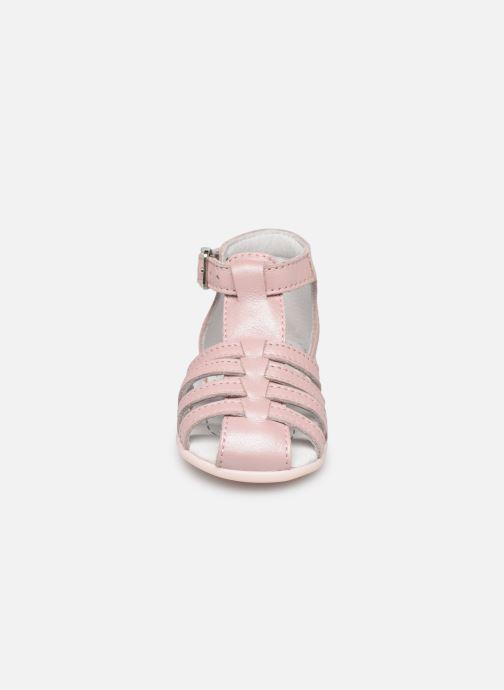 Sandales et nu-pieds Bopy Paulana Rose vue portées chaussures